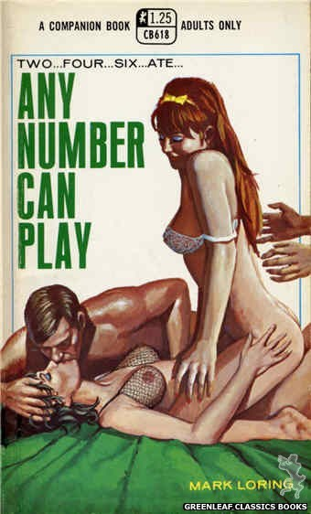 Companion Books CB618 - Any Number Can Play by Mark Loring, cover art by Ed Smith (1969)