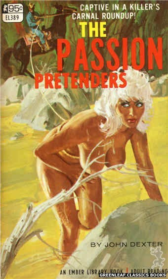 Ember Library EL 389 - The Passion Pretenders by John Dexter, cover art by Robert Bonfils (1967)