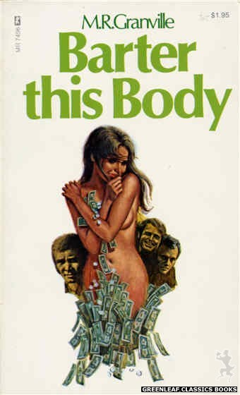 Midnight Reader 1974 MR7496 - Barter This Body by M.R. Granville, cover art by Ed Smith (1974)
