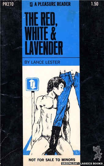 Pleasure Reader PR270 - The Red, White & Lavender by Lance Lester, cover art by Unknown (1970)