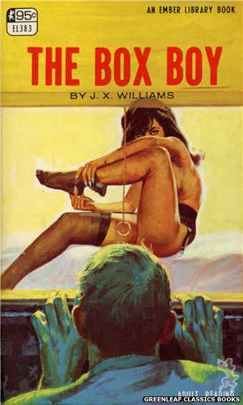 Ember Library EL 383 - The Box Boy by J.X. Williams, cover art by Robert Bonfils (1967)