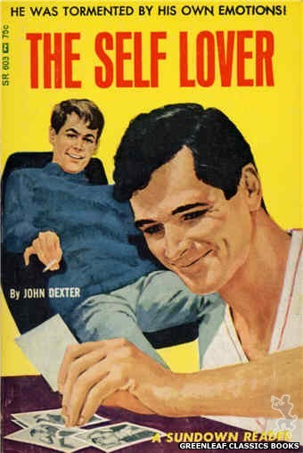 Sundown Reader SR603 - The Self Lover by John Dexter, cover art by Darrel Millsap (1966)