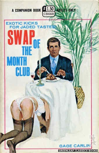 Companion Books CB668 - Swap Of The Month Club by Gage Carlin, cover art by Robert Bonfils (1970)