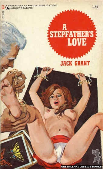 Nitime Swapbooks NS500 - A Stepfather's Love by Jack Grant, cover art by Robert Bonfils (1972)
