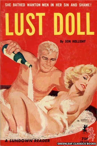 Sundown Reader SR522 - Lust Doll by Don Holliday, cover art by Unknown (1964)