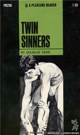 Pleasure Reader PR256 - Twin Sinners by Douglas Dean, cover art by Darrel Millsap (1970)