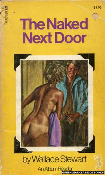 Midnight Reader 1974 MR7555 - The Naked Next Door by Wallace Stewart, cover art by Ed Smith (1975)