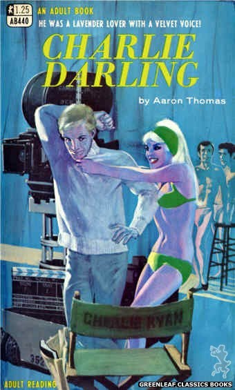 Adult Books AB440 - Charlie Darling by Aaron Thomas, cover art by Darrel Millsap (1968)