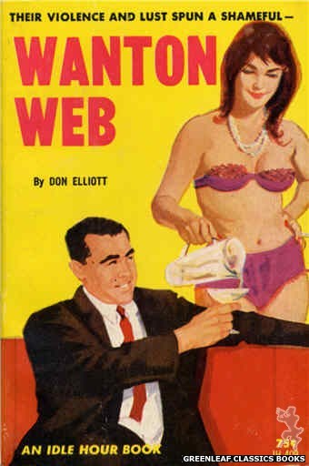 Idle Hour IH409 - Wanton Web by Don Elliott, cover art by Unknown (1964)