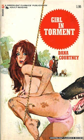 Nitime Swapbooks NS493 - Girl In Torment by Dana Courtney, cover art by Unknown (1972)