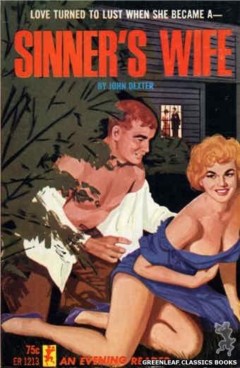 Evening Reader ER1213 - Sinner's Wife by John Dexter, cover art by Unknown (1965)