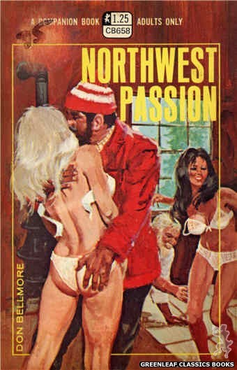 Companion Books CB658 - Northwest Passion by Don Bellmore, cover art by Robert Bonfils (1970)