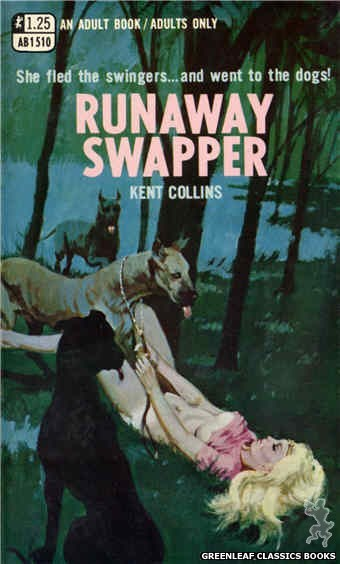 Adult Books AB1510 - Runaway Swapper by Kent Collins, cover art by Unknown (1970)