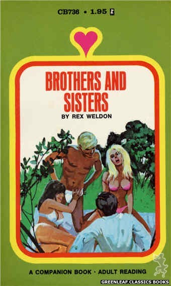 Companion Books CB736 - Brothers And Sisters by Rex Weldon, cover art by Unknown (1971)