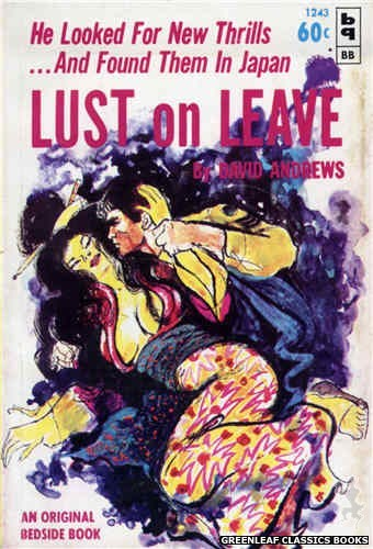 Bedside Books BB 1243 - Lust On Leave by David Andrews, cover art by Unknown (1963)