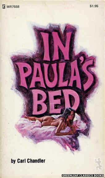 Midnight Reader 1974 MR7558 - In Paula's Bed by Carl Chandler, cover art by Ed Smith (1975)