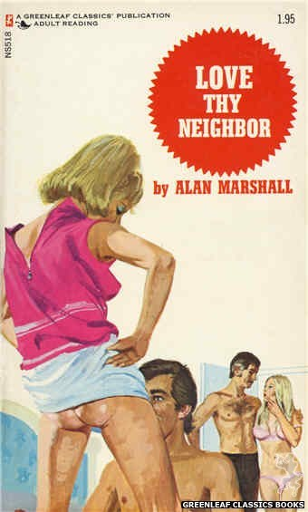 Nitime Swapbooks NS518 - Love Thy Neighbor by Alan Marshall, cover art by Unknown (1973)