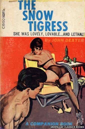 Companion Books CB501 - The Snow Tigress by John Dexter, cover art by Tomas Cannizarro (1967)