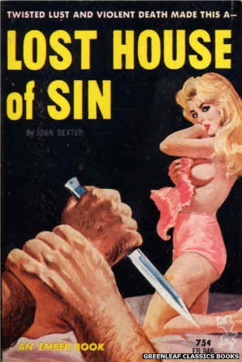 Ember Books EB946 - Lost House Of Sin by John Dexter, cover art by Unknown (1964)