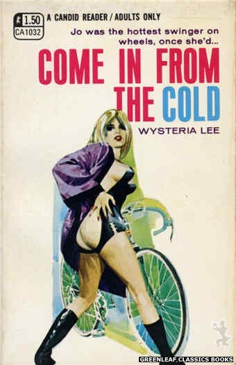 Candid Reader CA1032 - Come In From The Cold by Wysteria Lee, cover art by Darrel Millsap (1970)
