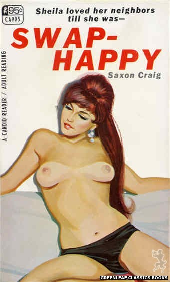 Candid Reader CA905 - Swap-Happy by Saxon Craig, cover art by Unknown (1967)