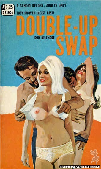 Candid Reader CA1006 - Double-Up Swap by Don Bellmore, cover art by Darrel Millsap (1969)