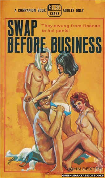 Companion Books CB638 - Swap Before Business by John Dexter, cover art by Ed Smith (1969)