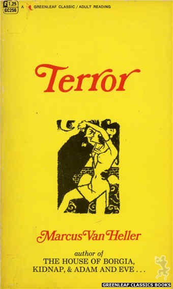 Greenleaf Classics GC256 - Terror by Marcus Van Heller, cover art by Unknown (1967)