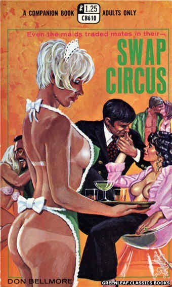 Companion Books CB610 - Swap Circus by Don Bellmore, cover art by Ed Smith (1969)