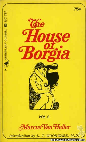 Greenleaf Classics GC217 - The House of Borgia, Vol. 2 by Marcus Van Heller, cover art by Unknown (1966)