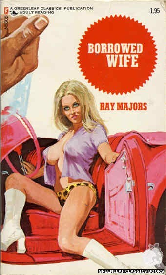 Nitime Swapbooks NS505 - Borrowed Wife by Ray Majors, cover art by Unknown (1973)