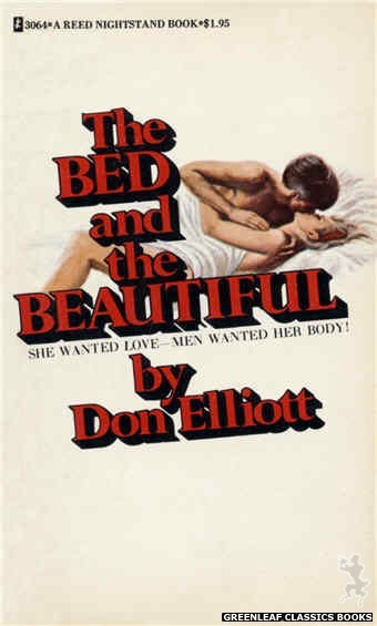 Reed Nightstand 3064 - The Bed and the Beautiful by Don Elliott, cover art by Ed Smith (1973)