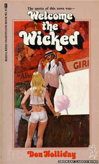 Reed Nightstand 4023 - Welcome the Wicked by Don Holliday, cover art by Robert Bonfils (1974)