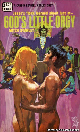 Candid Reader CA981 - God's Little Orgy by Mitch Stanley, cover art by Robert Bonfils (1969)