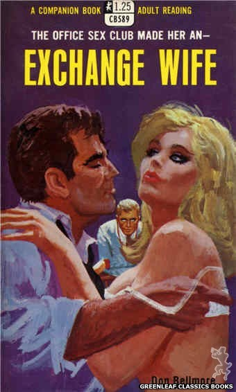 Companion Books CB589 - Exchange Wife by Don Bellmore, cover art by Robert Bonfils (1968)