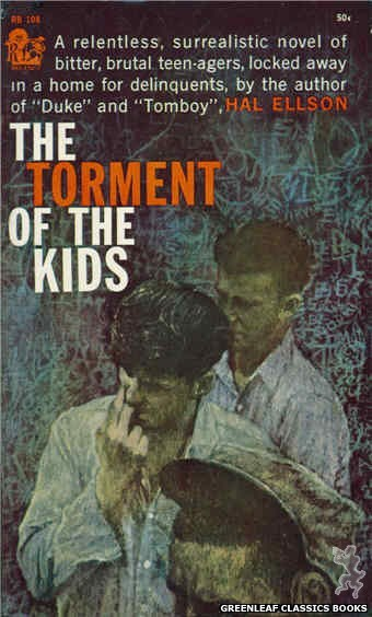 Regency Books RB108 - The Torment Of The Kids by Hal Ellson, cover art by Richard Frooman (1961)