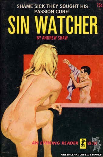 Evening Reader ER788 - Sin Watcher by Andrew Shaw, cover art by Unknown (1965)