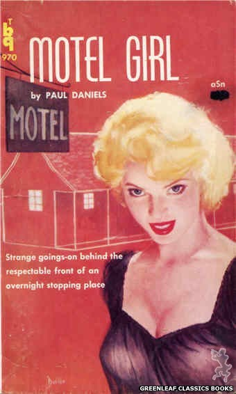Bedside Books BTB 970 - Motel Girl by Paul Daniels, cover art by Unknown (1960)