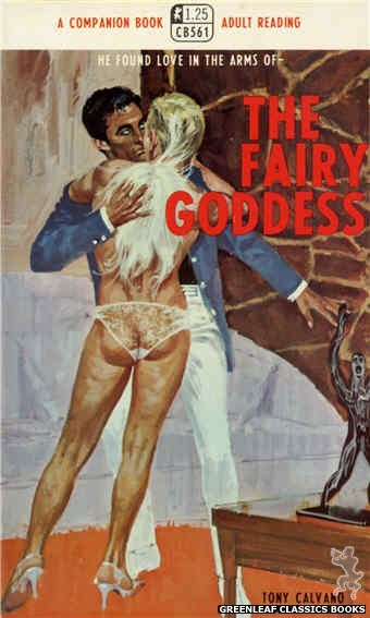 Companion Books CB561 - The Fairy Goddess by Tony Calvano, cover art by Robert Bonfils (1968)