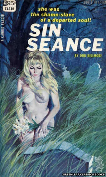 Candid Reader CA940 - Sin Seance by Don Bellmore, cover art by Robert Bonfils (1968)