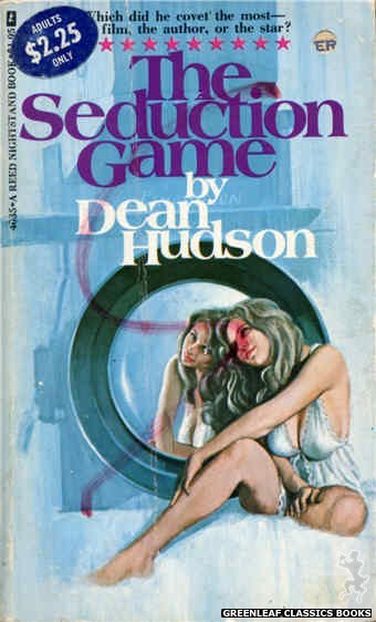 Reed Nightstand 4035 - The Seduction Game by Dean Hudson, cover art by Ed Smith (1974)