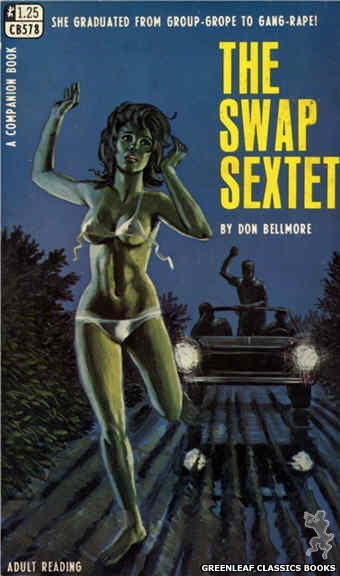 Companion Books CB578 - The Swap Sextet by Don Bellmore, cover art by Ed Smith (1968)