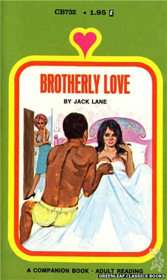 Companion Books CB732 - Brotherly Love by Jack Lane, cover art by Unknown (1971)