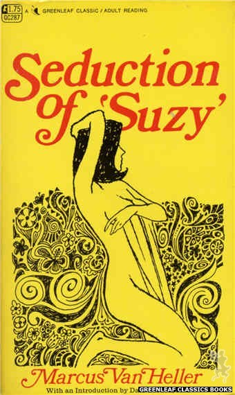 Greenleaf Classics GC287 - Seduction of 'Suzy' by Marcus Van Heller, cover art by Unknown (1968)
