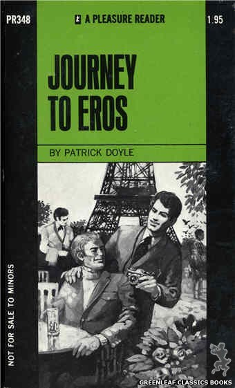 Pleasure Reader PR348 - Journey To Eros by Patrick Doyle, cover art by Unknown (1972)