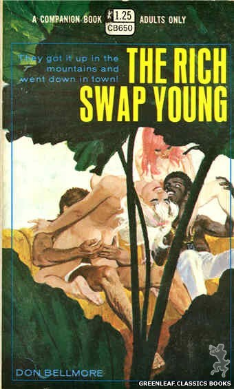Companion Books CB650 - The Rich Swap Young by Don Bellmore, cover art by Robert Bonfils (1970)