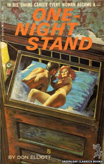 Ember Library EL 319 - One-Night Stand by Don Elliott, cover art by Robert Bonfils (1966)