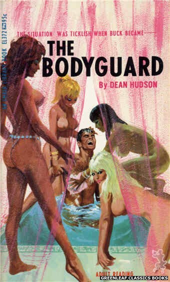 Ember Library EL 372 - The Bodyguard by Dean Hudson, cover art by Robert Bonfils (1967)