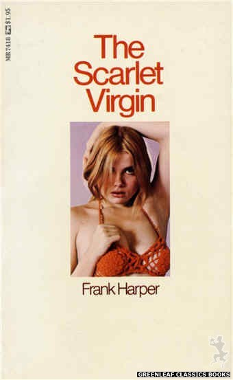 Midnight Reader 1974 MR7418 - The Scarlet Virgin by Frank Harper, cover art by Photo Cover (1974)