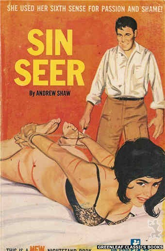 Nightstand Books NB1772 - Sin Seer by Andrew Shaw, cover art by Unknown (1966)